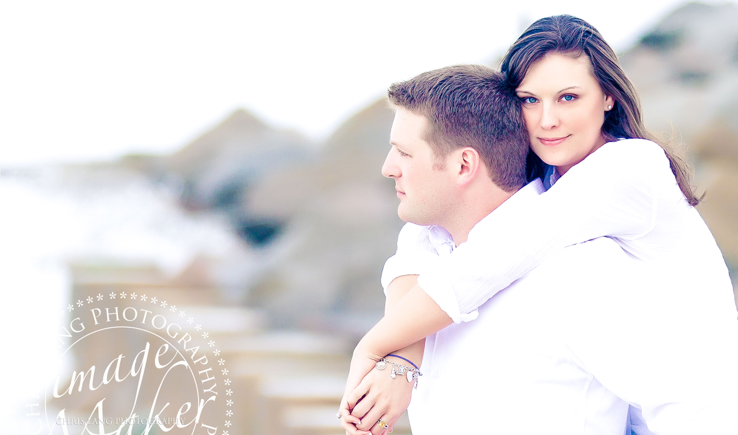 Beach Engagment Picture-Couple walking on the beach-Wilmington-NC-Engagement-Photographers