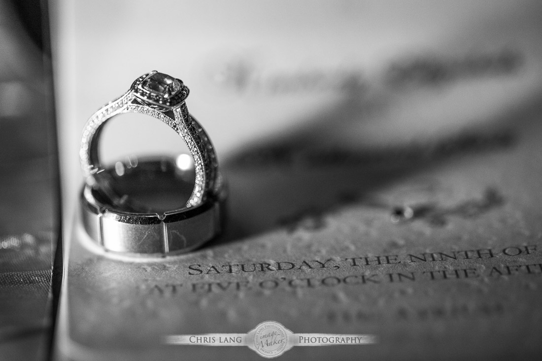 Black and white diamond engagement rings