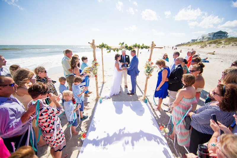 Topsail Island Weddings Photography Picture Ideas Wedding On The Beach