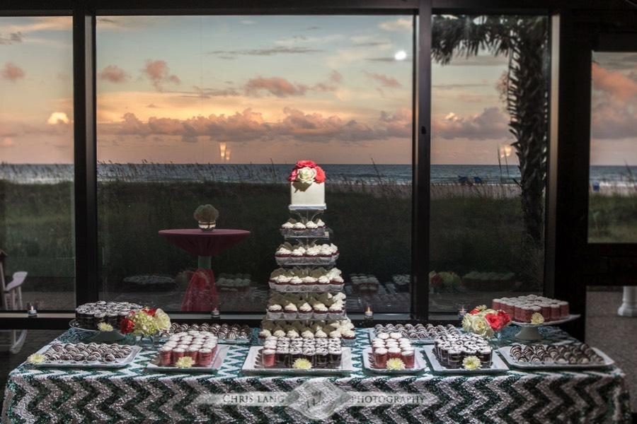 Wrightsville Beach Wedding Photographers Reception At Shell Island Resort