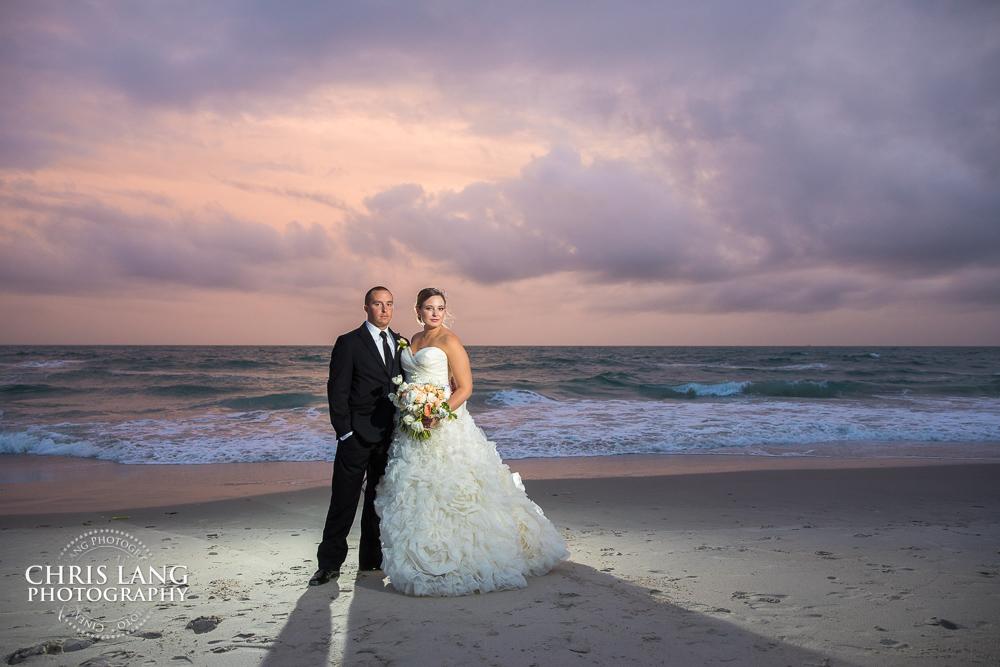 Nc Beach Weddings Chris Lang Weddings Nc Beach Wedding