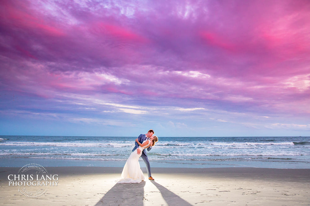 NC Beach Weddings | Chris Lang Weddings | NC Beach Wedding ...