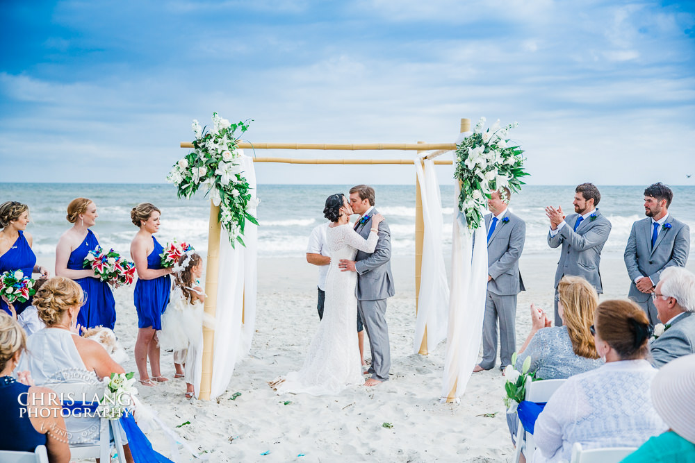 NC Beach Weddings | Chris Lang Weddings | NC Beach Wedding ...