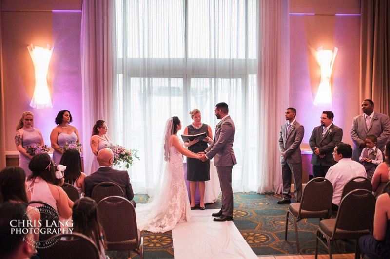 hotel ballast weddings - wilmington nc -  wedding photographers - wedding photography - chris lang weddings
