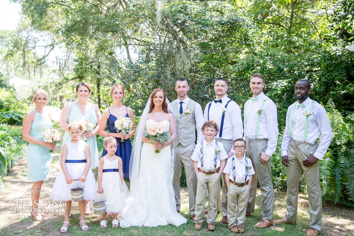 Wedding Party Photography: Chris Lang Weddings