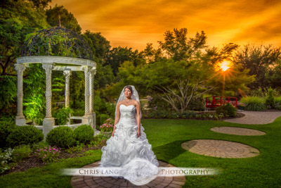 nwe hanover county arboretum weddings -  wedding photographers - wedding photography - chris lang weddings
