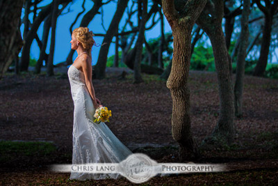 fort fisher weddings - wedding photographers - photography - wedding info - chris lang weddings